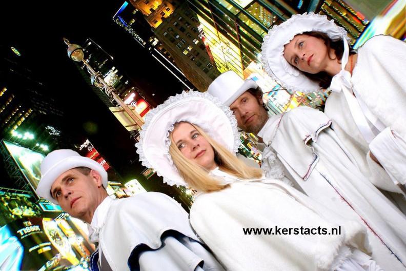 Dickenskoor, Dickens koor, Kerstact, Kerstacts, Kerstkoor: Dickens in White, stijlvol kerstrepertoire voor een prachtig kerstfeest