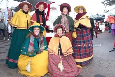 Kerstkoor - Dickenskoor, fraai kerstrepertoire gezongen door de Charles Dickensladies