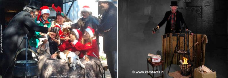 Scrooge personage en Kastanjepoffer, Het juiste Charles Dickens Entertainment voor uw kerstfeest, www.kerstacts.nl