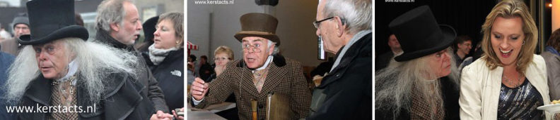 De Dickensverteller is Charles Dickens Entertainment voor een sfeervol kerstfeest, www.kerstacts.nl