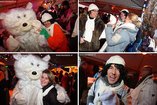 IJsbeer & De Eskimo. Deze lieve ijsbeer heeft een koude achtergrond maar geeft zoveel warmte en geeft een hoog knuffelgehalte www.kerstacts.nl