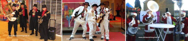 De Dickens muzikanten werken al vele jaren met elkaar, en kunnen goed de uitstraling (kledij) verzorgen. Dat kunnen zij het hele gehele jaar maar de kerstperiode wordt toch als een bijzondere ervaringen, www.kerstacts.nl