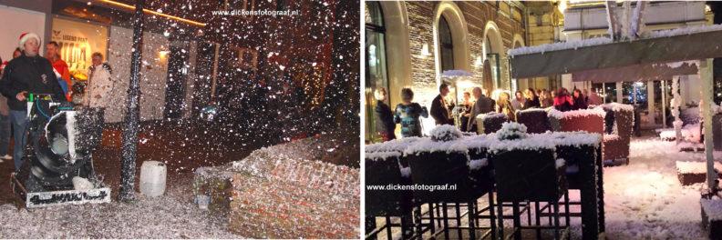 Turbo sneeuwkanon , het kan dan uw kerstborrel, of kerst evenement toch van een betoverend WIT worden, www.kerstacts.nl