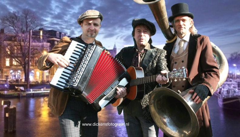 kerstmuziek, Een speciale muzikale kerstact voor de donkere dagen, Dickens muzikanten, www.kerstacts.nl