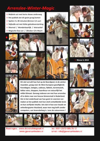 Arrenslee Winter theater, acteurs kerstentertainment, kerst, winter, categorie Apres ski entertainment, www.kerstacts.nl