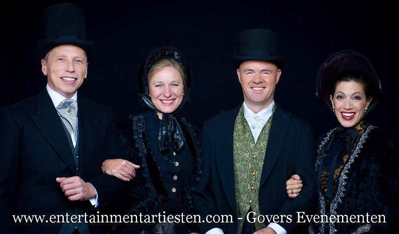 For Christmas, Charles Dickens koor, Kerstmuziek, kerstmuzikanten, Dickensmuziek, Dickenskoor, Dickens zangers, Dickens entertainment, Govers Evenementen, www.kerstacts.nl