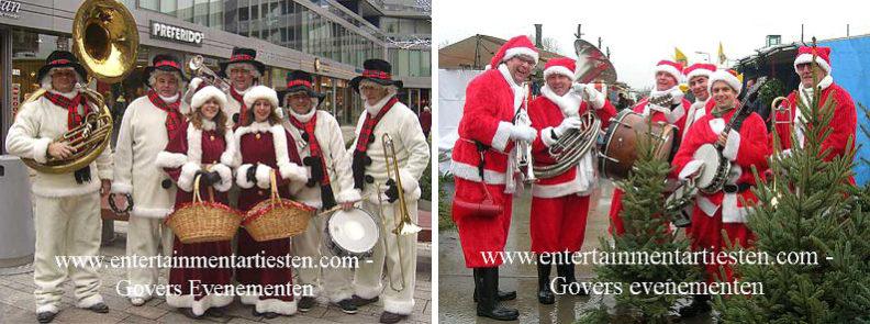 Kerst artiest, kerstartiest, kerstmuzikanten, kerst muzikanten, kerstmuziek, kerst muziek, kerstshow, kerst show, kerstentertainment, kerst entertainment, kerst, kerst acts, kerst act, kerstacts, kerstact, kerst en winter muziek, kerst en winter artiesten, kerst en winter entertainment, kerstthema, thema kerst, kerstmuziek, kerstmuzikanten, bandje, kerstentertainment, kerstartiesten boeken, muzikanten boeken, kerstkoor, themafeest, winterentertainment, wintermuziek, muziektrio, muziekduo, kerstzanger, kerstact, kerst repertoire, kersttijd, akoestiche muziek, mobiele muziek, winterfeest, nieuwjaarsfeest, stijlvolle muziek, muzikaal entertainment, kerstmis, kerstdiner, kerstborrel, kerstviering, kerstmarkt, kerstman muziek, white Christmas, Govers Evenementen, Vijf persoons Jazzorkest uit Utrecht speelt sfeervolle kerstliedjes in sneeuwkostuums.Vijf persoons Jazzorkest uit Utrecht speelt sfeervolle kerstliedjes in sneeuwkostuums, www.kerstacts.nl