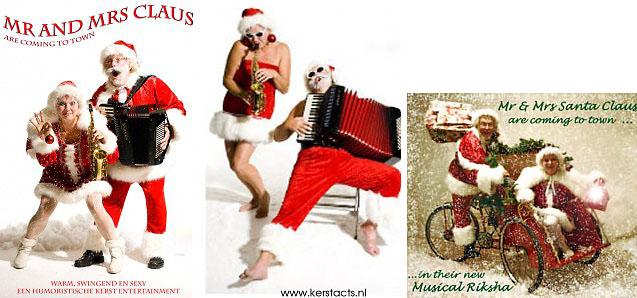 Mr. & Mrs Claus, een geweldige leuke muzikale act. kerstmuziek, kerstmuzikanten, bandje, kerstentertainment, kerstartiesten boeken, muzikanten boeken, kerstkoor, themafeest, winterentertainment, wintermuziek, muziektrio, muziekduo, kerstzanger, kerstact, kerst repertoire, kersttijd, akoestiche muziek, mobiele muziek, winterfeest, nieuwjaarsfeest, stijlvolle muziek, muzikaal entertainment, kerstmis, kerstdiner, kerstborrel, kerstviering, kerstmarkt, kerstman muziek, white Christmas, Govers Evenementen, www.kerstacts.nl